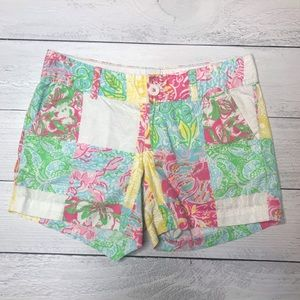 Lilly Pulitzer Callahan State Patch Shorts
